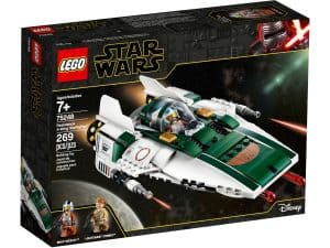 lego 75248 motstandsbevegelsens a wing starfighter