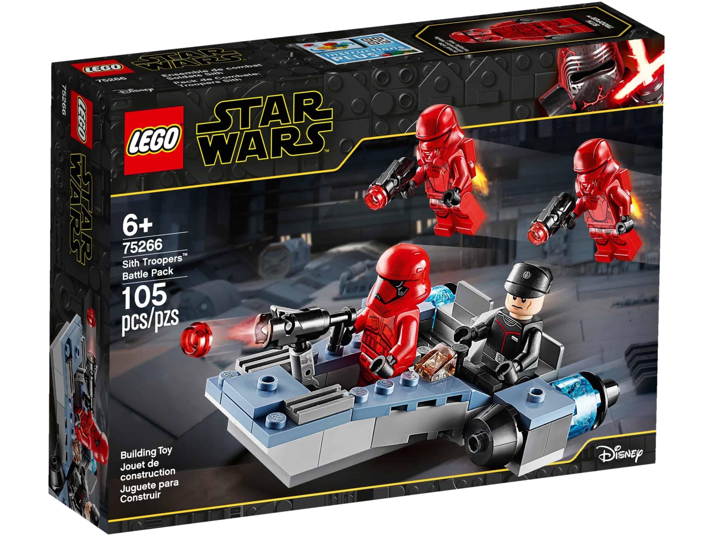 lego 75266 stridspakke med sith troopers