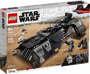 lego 75284 transportfartoyet til knights of ren