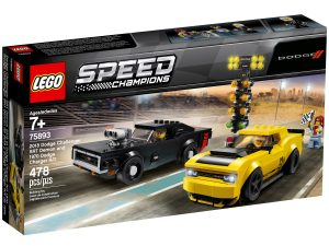 lego 75893 2018 dodge challenger srt demon og 1970 dodge charger r t