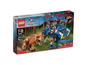 lego 75918 pa sporet av t rex