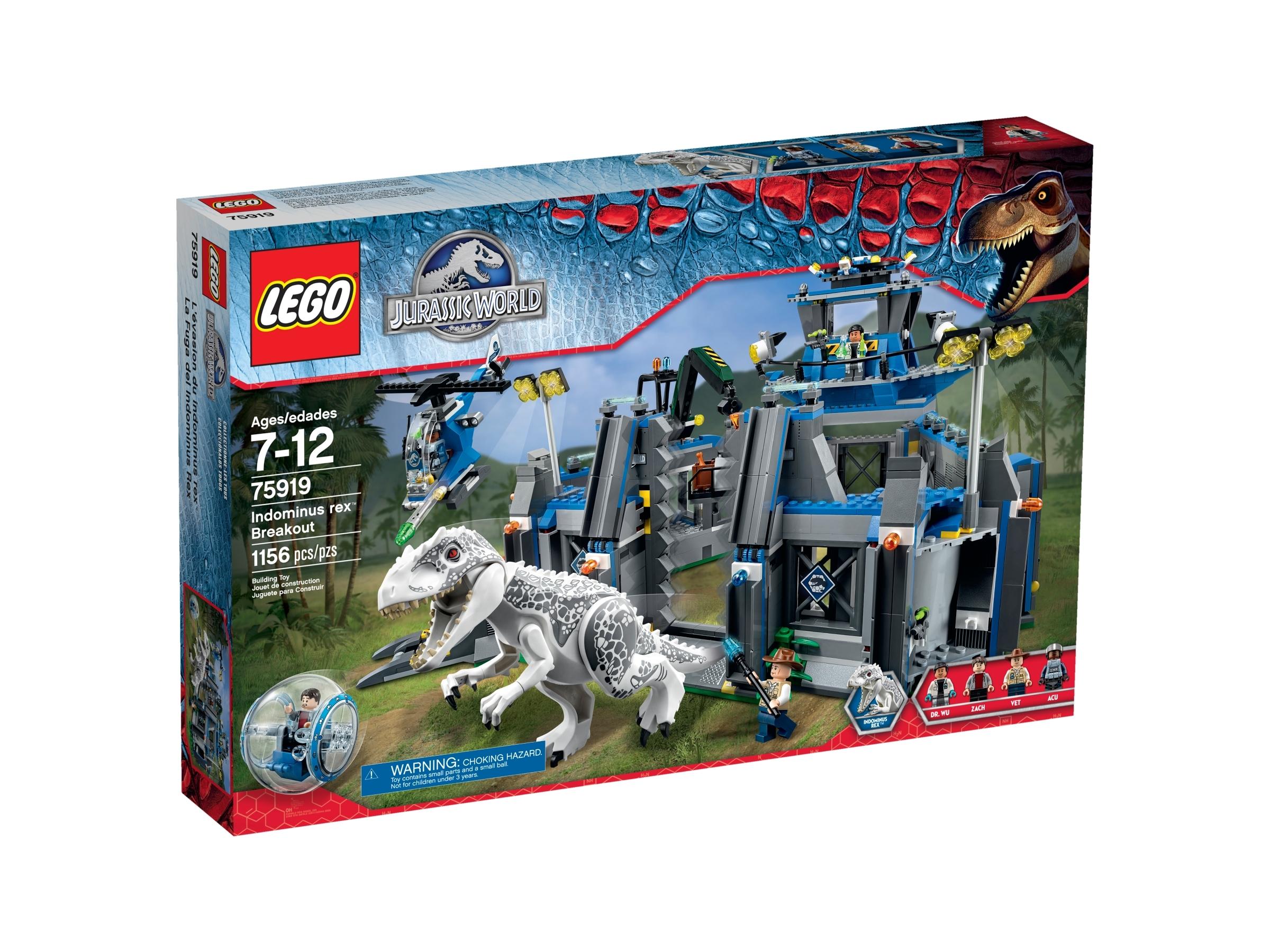 lego 75919 indominus rex pa flukt