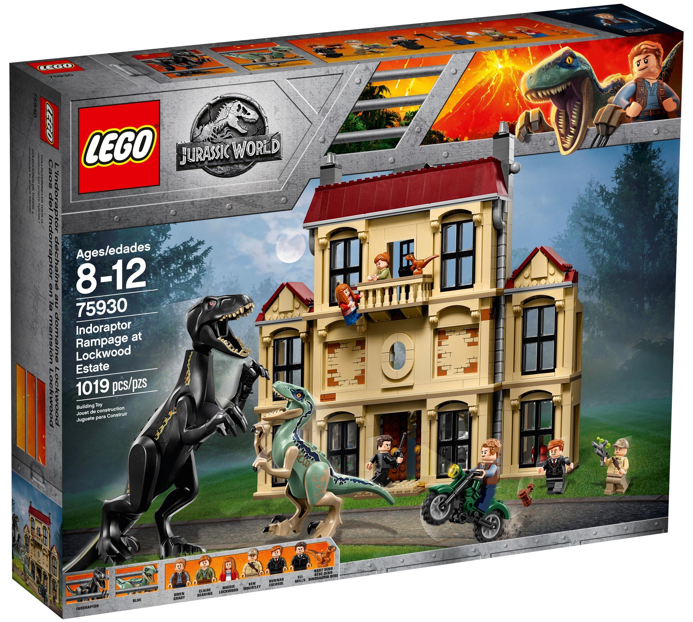 lego 75930 indoraptor stormer lockwoods gods