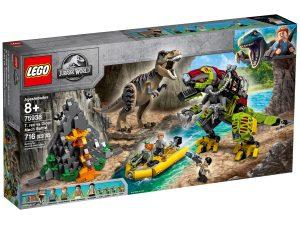 lego 75938 t rex i kamp mot dino robot