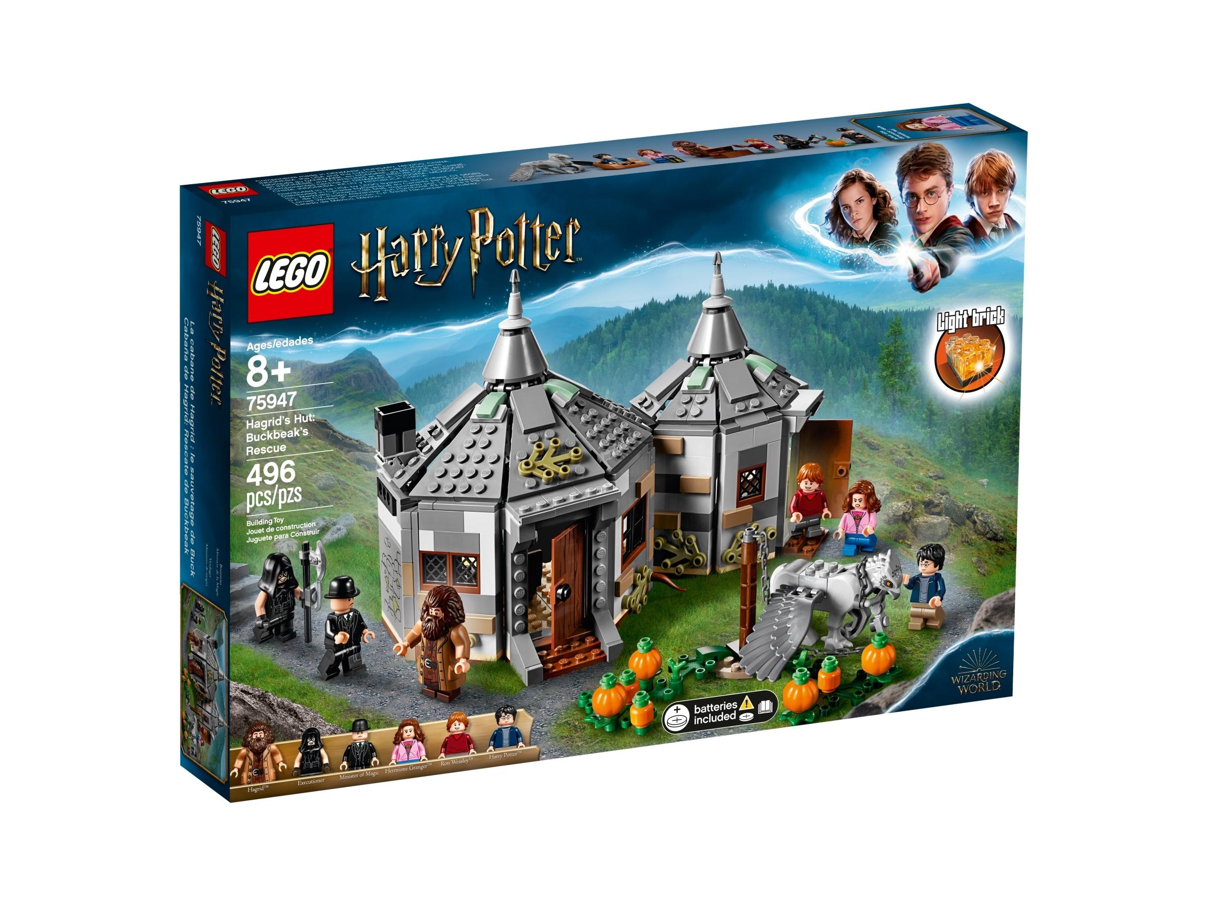 lego 75947 gygrids hytte bukknebbs flukt