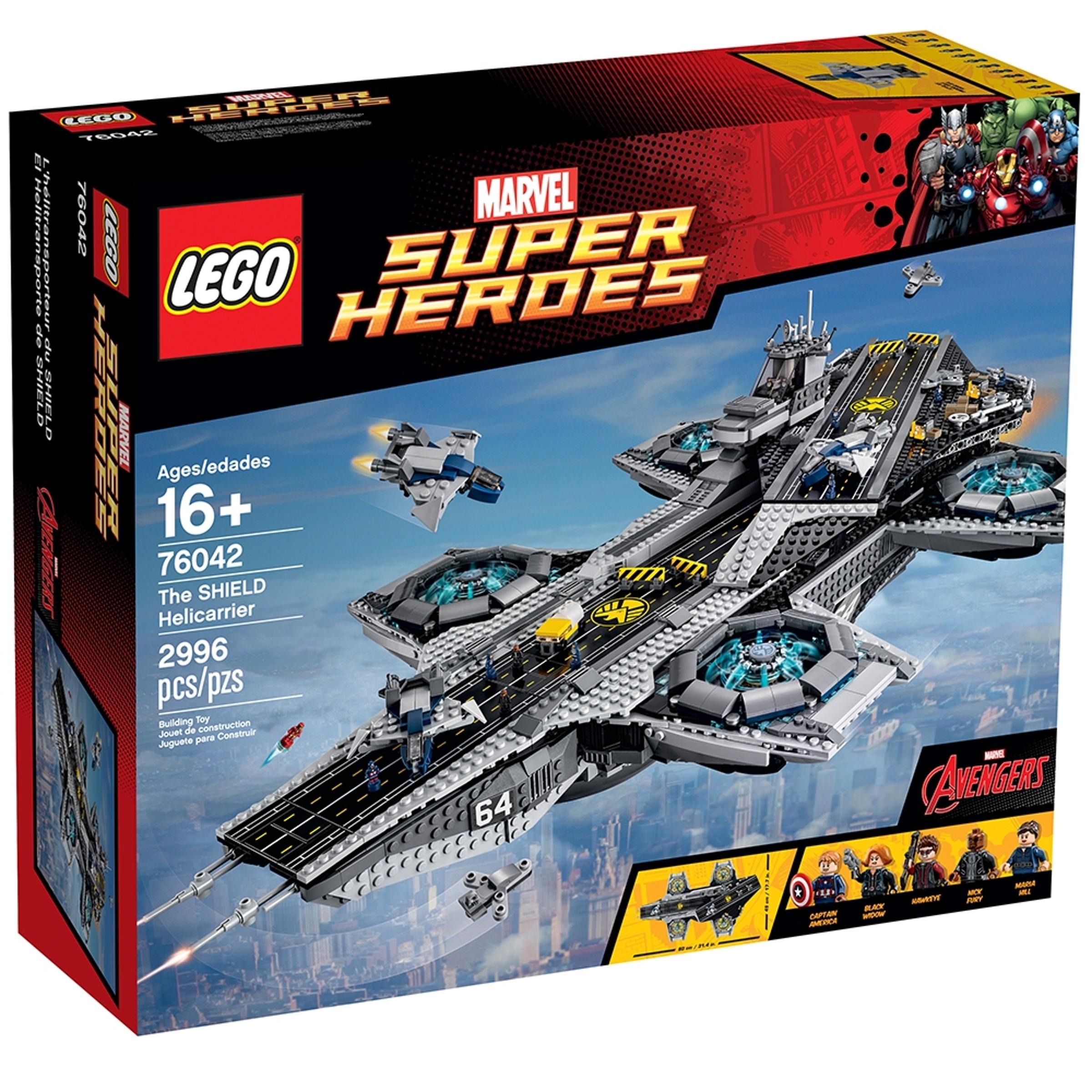 lego 76042 shield helicarrier