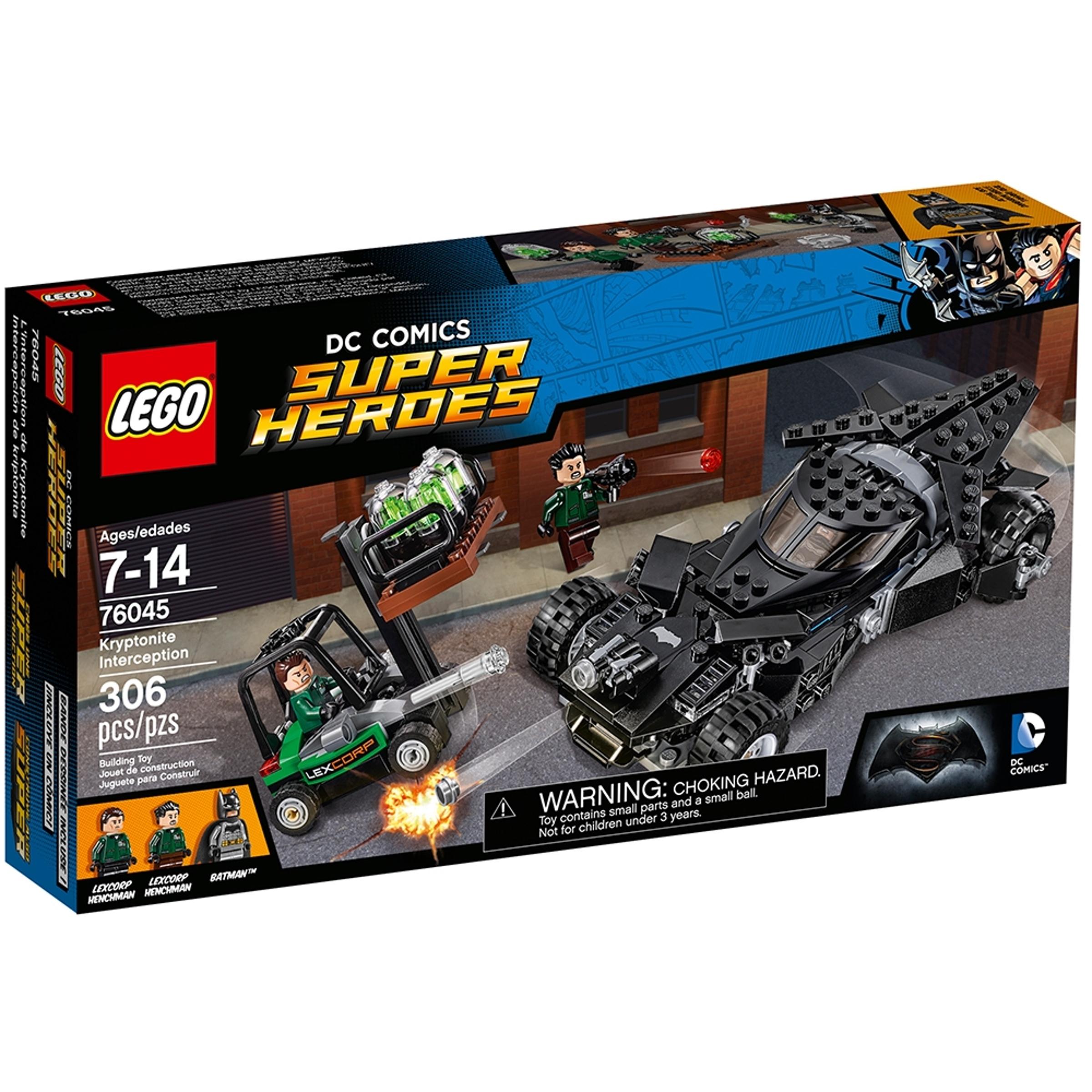lego 76045 kryptonittangrep