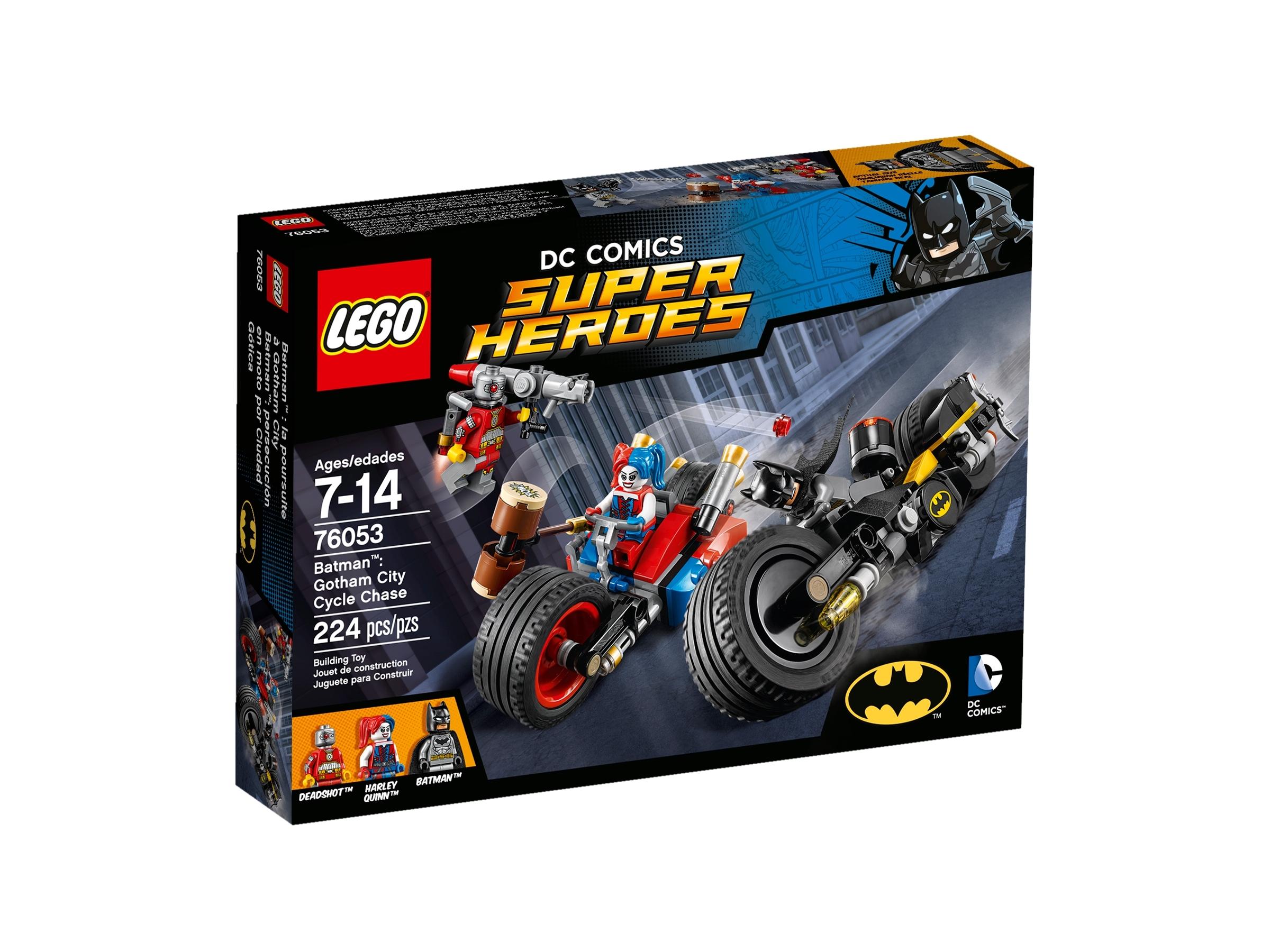 lego 76053 batman motorsykkeljakt i gotham city