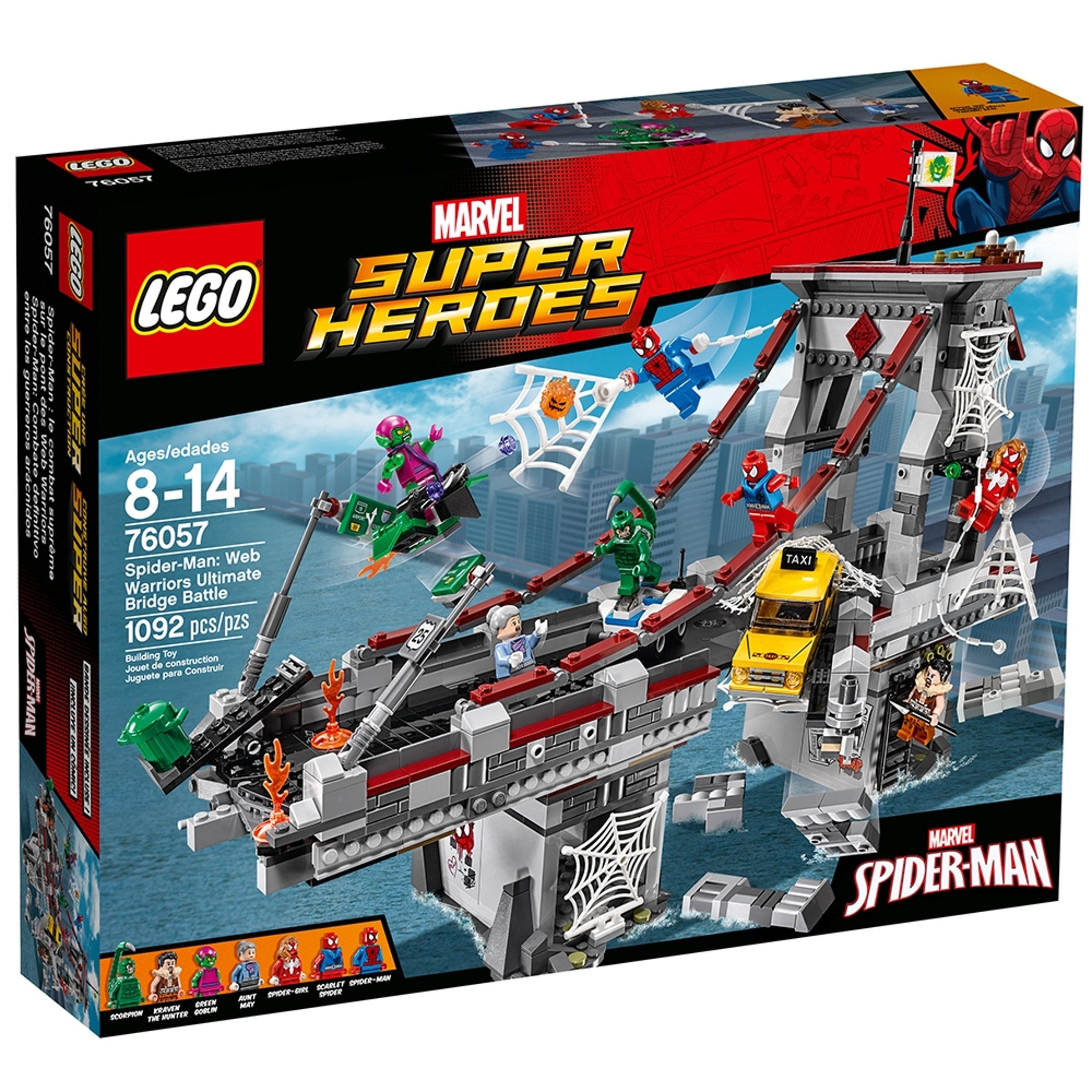 lego 76057 spider man nettkrigernes sluttoppgjor