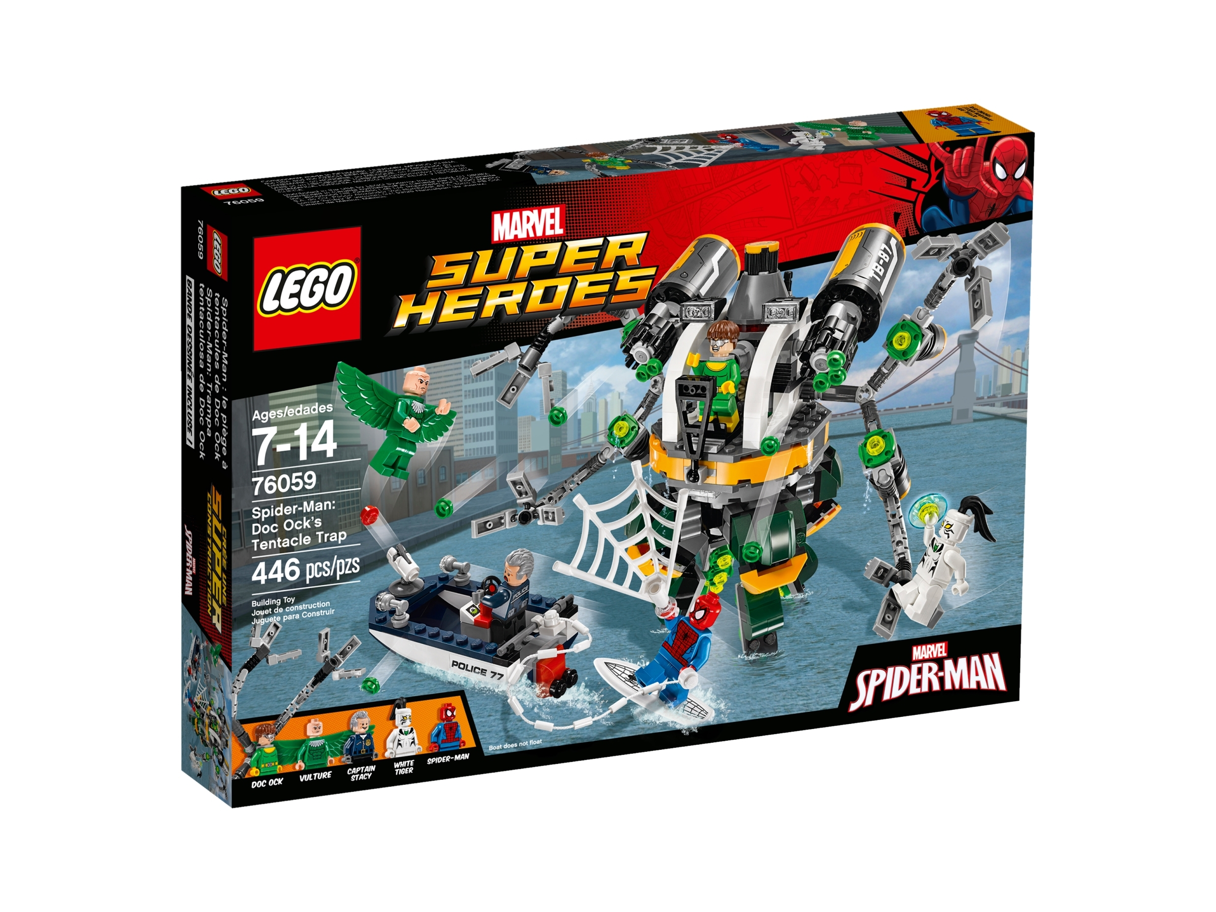 lego 76059 spider man doc ocks tentakkelfelle