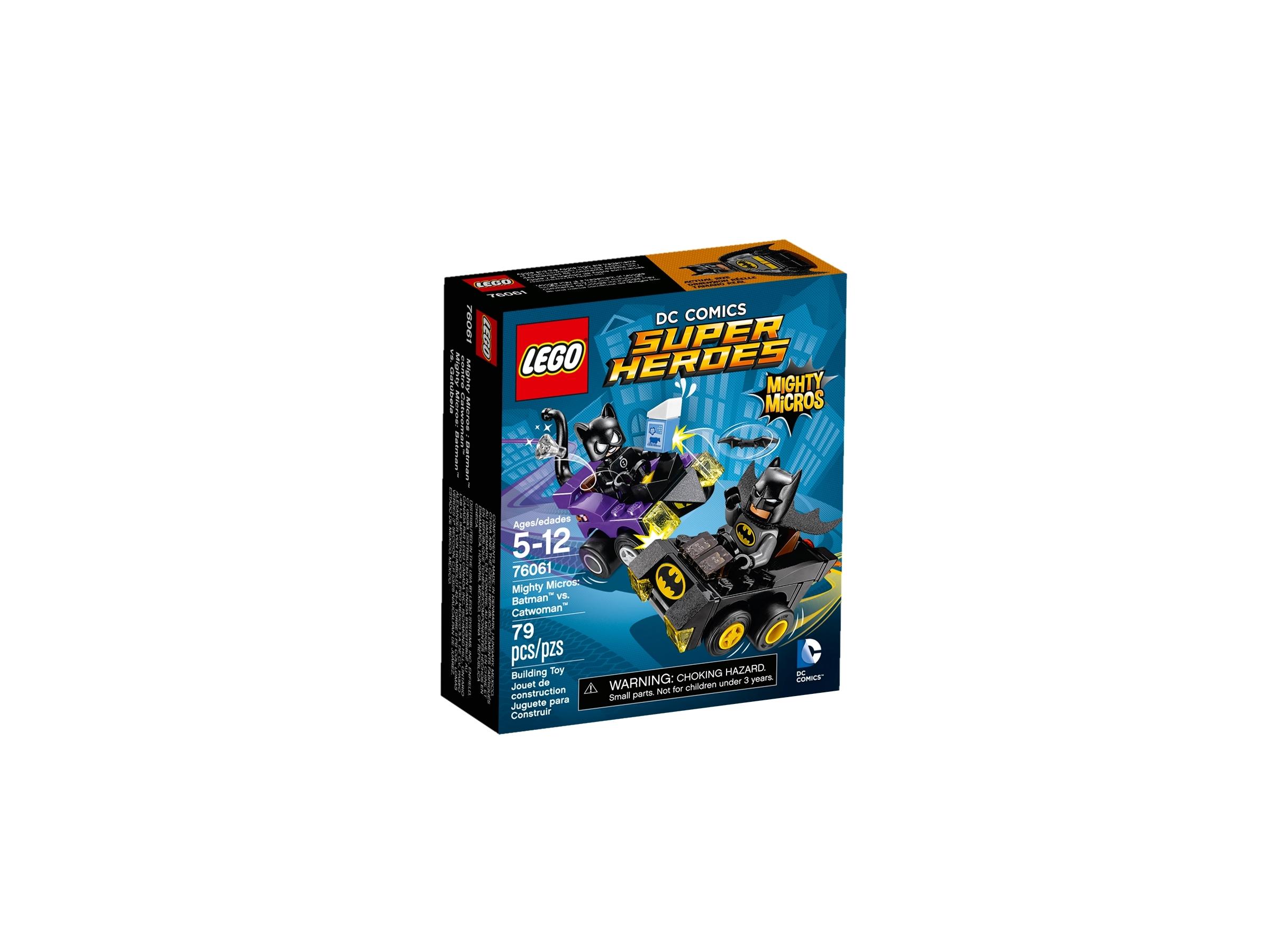 lego 76061 mighty micros batman mot catwoman