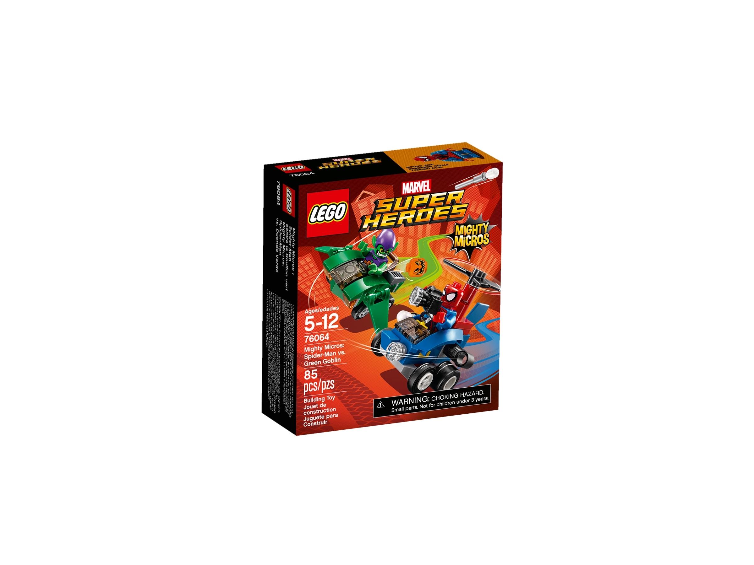lego 76064 mighty micros spider man mot green goblin