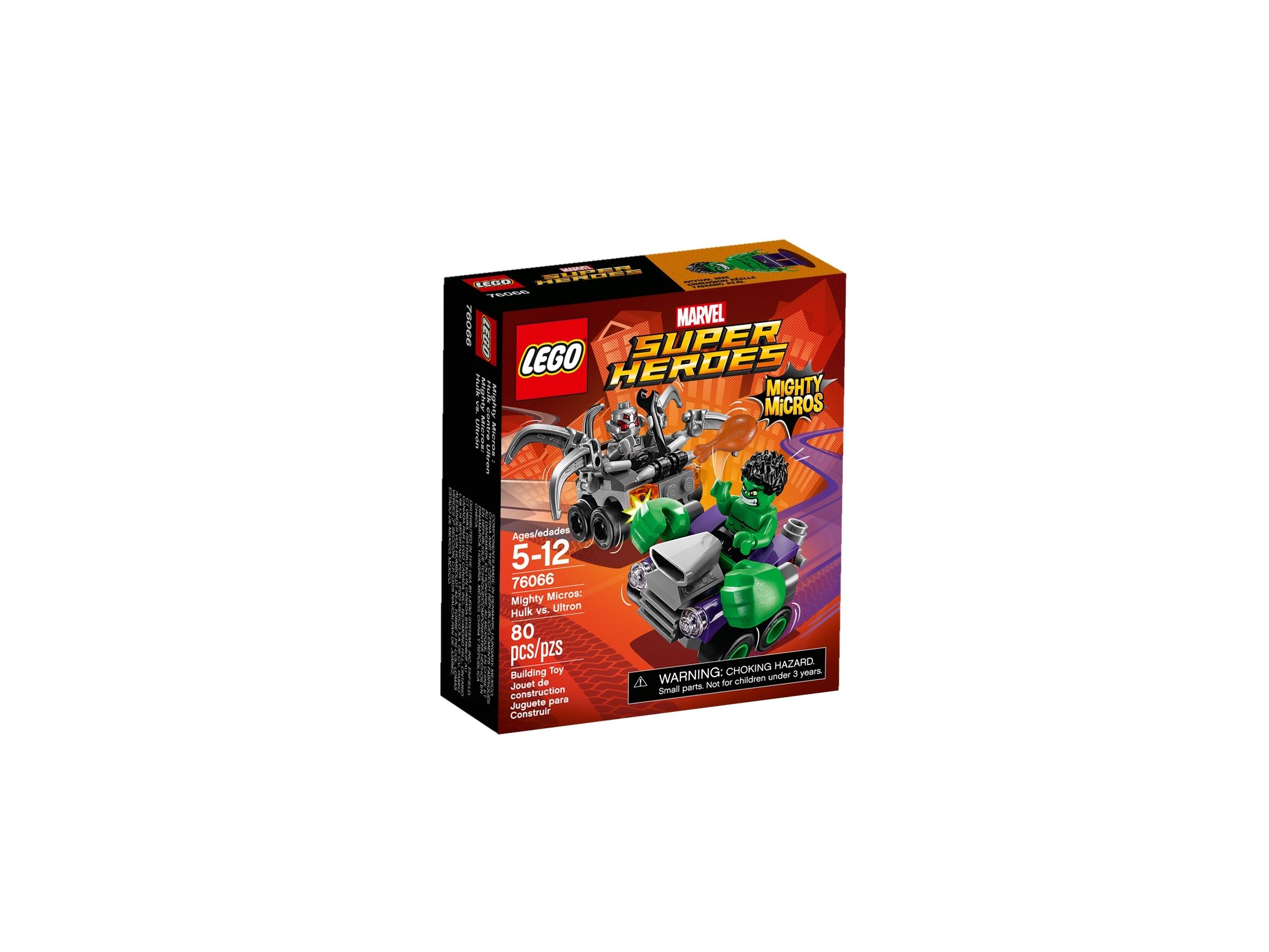 lego 76066 mighty micros hulk mot ultron