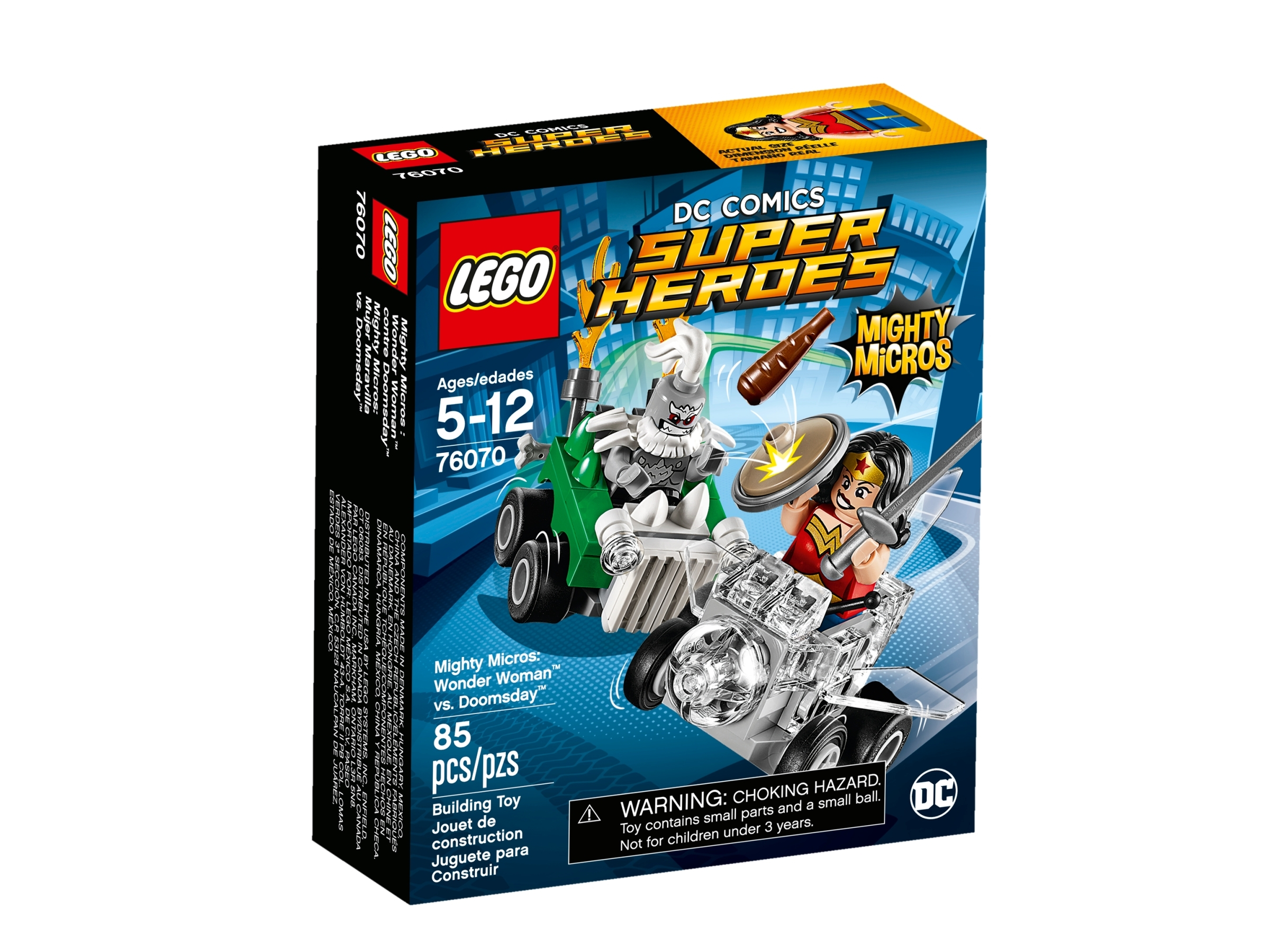 lego 76070 mighty micros wonder woman mot doomsday