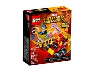 lego 76072 mighty micros iron man mot thanos