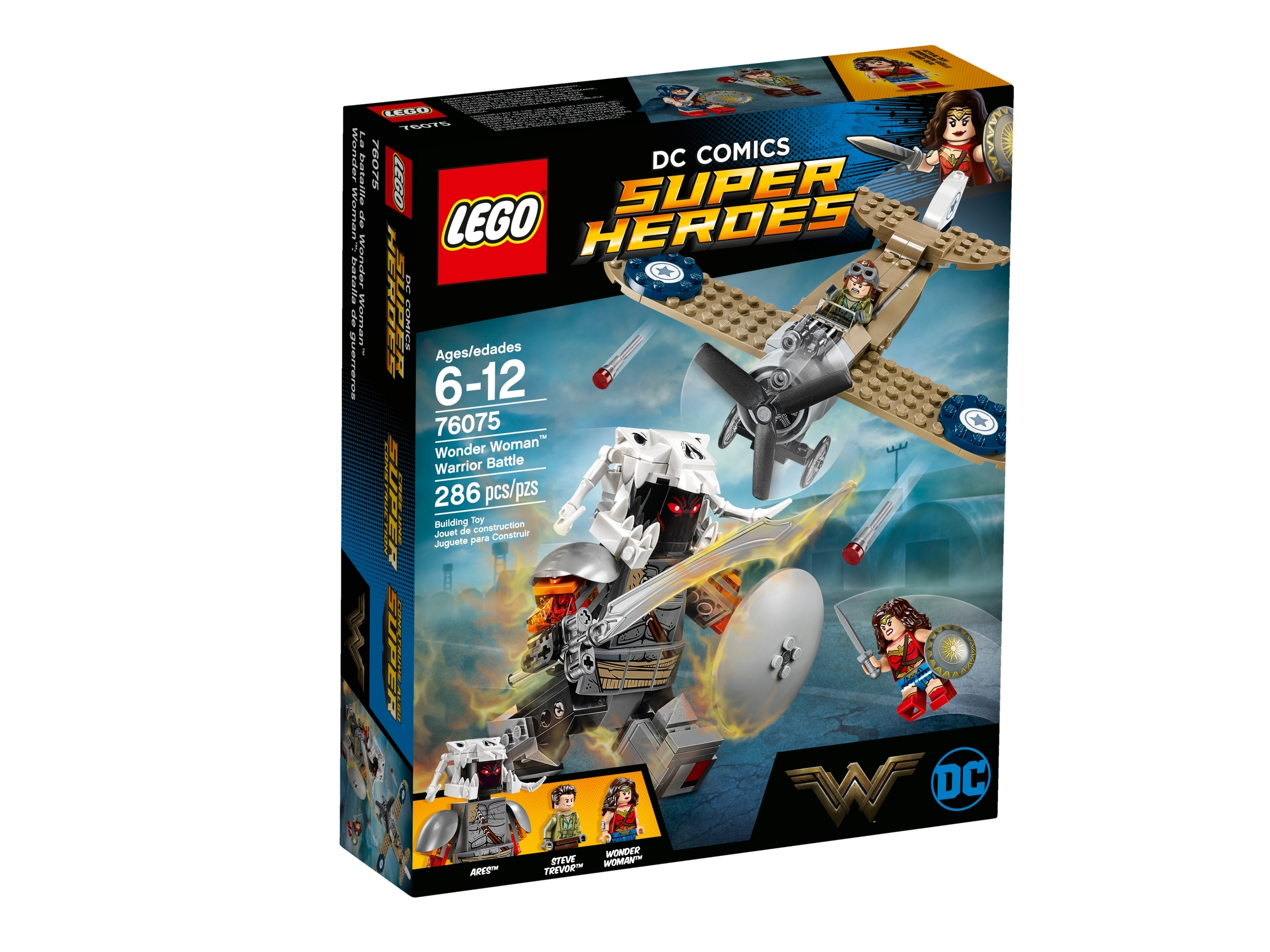 lego 76075 wonder woman i krigerkamp