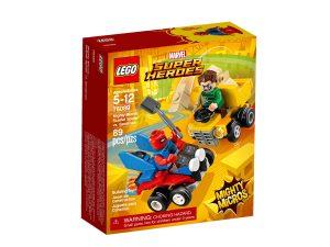 lego 76089 mighty micros scarlet spider mot sandman
