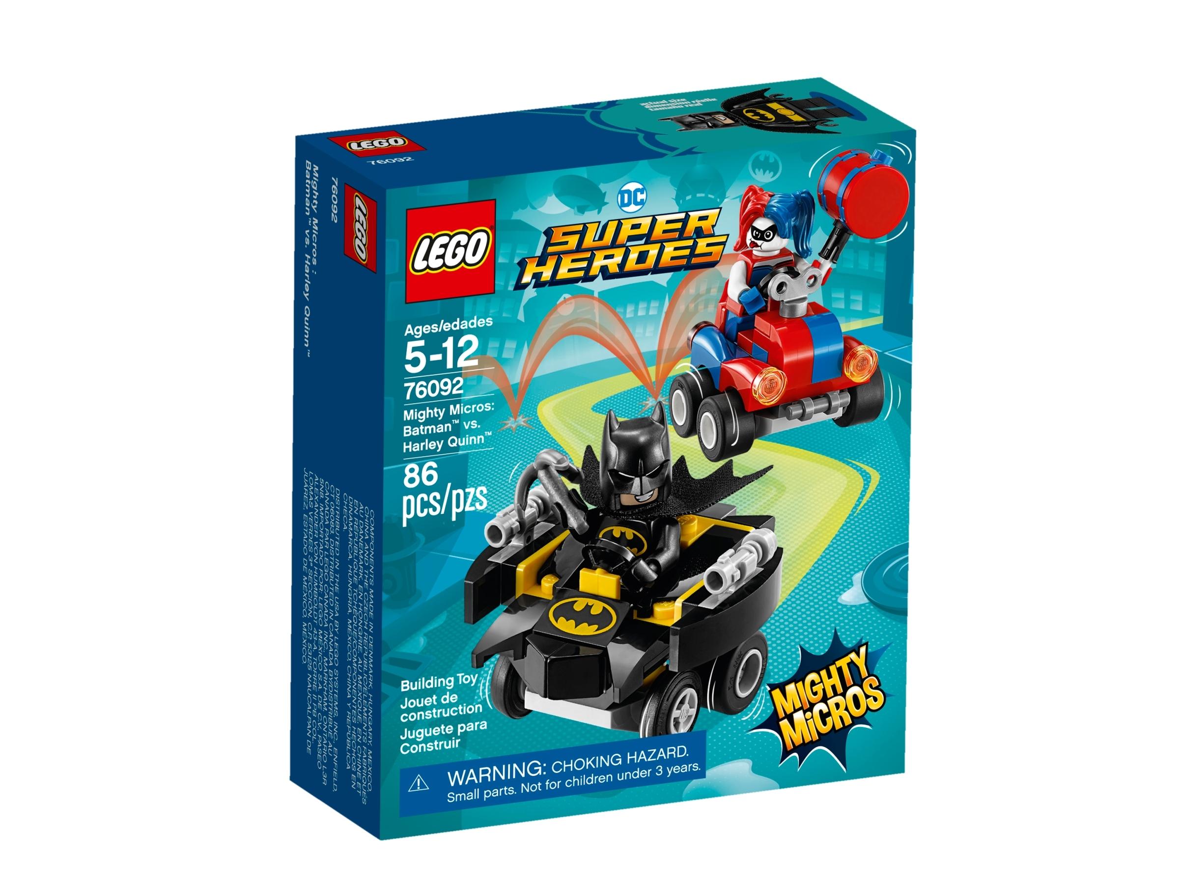 lego 76092 mighty micros batman mot harley quinn