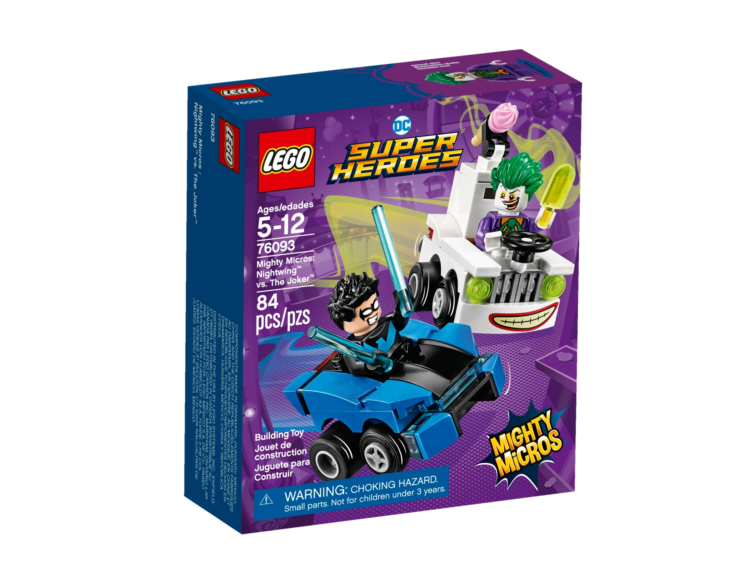 lego 76093 mighty micros nightwing mot jokeren