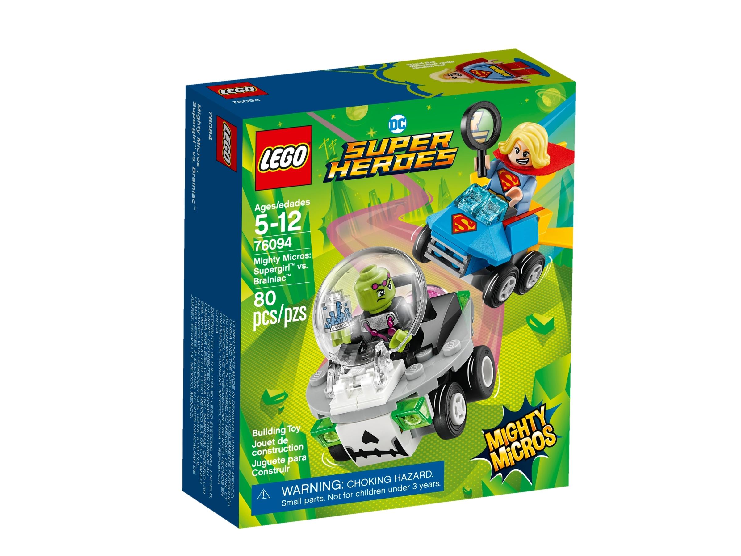 lego 76094 mighty micros supergirl mot brainiac