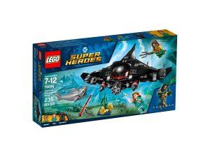 lego 76095 aquaman black manta angrep