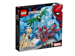 lego 76114 spider mans edderkoppkjoretoy