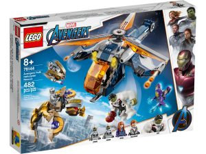 lego 76144 helikopterredning med avengers hulk