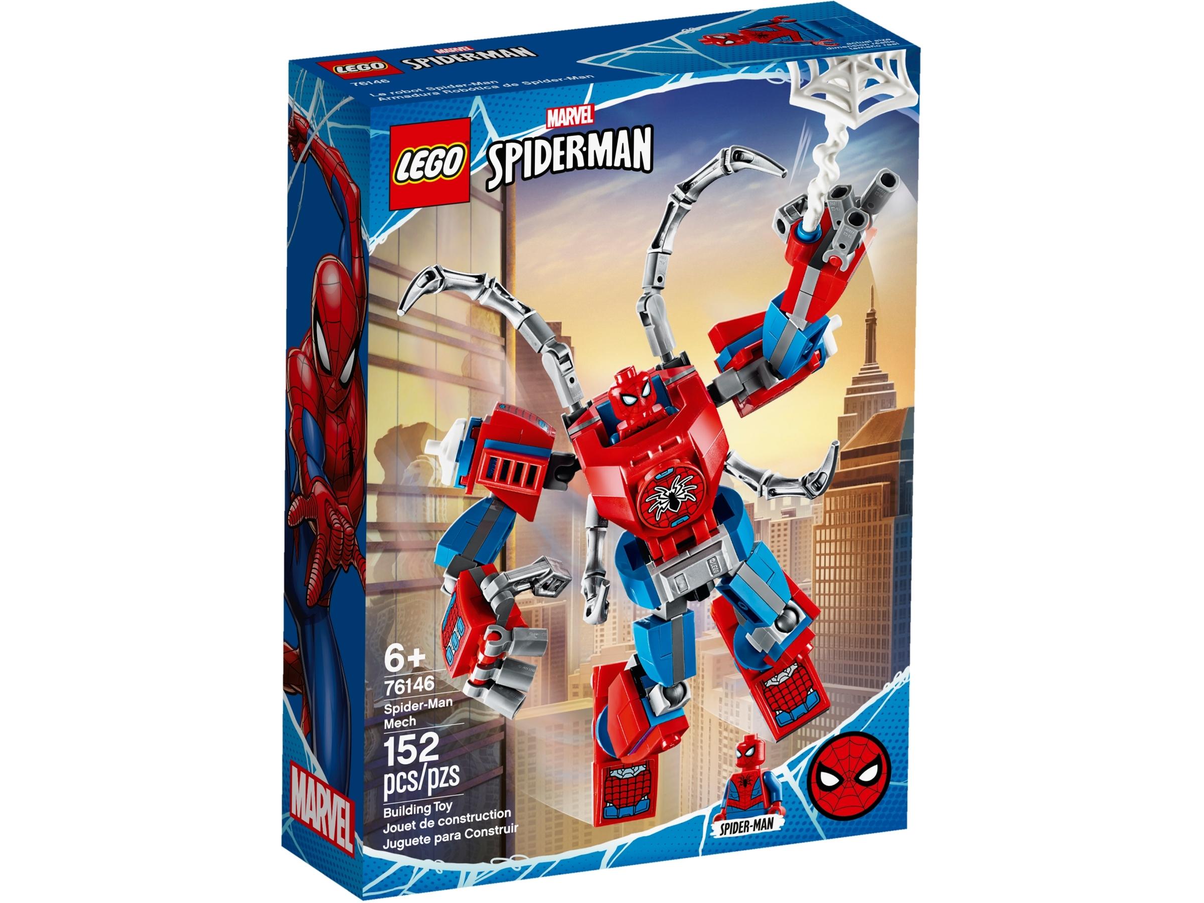 lego 76146 spider man robot