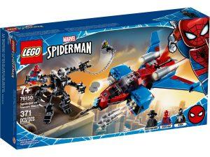 lego 76150 spiderjet mot venom robot