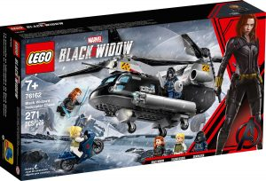 lego 76162 black widows helikopterjakt