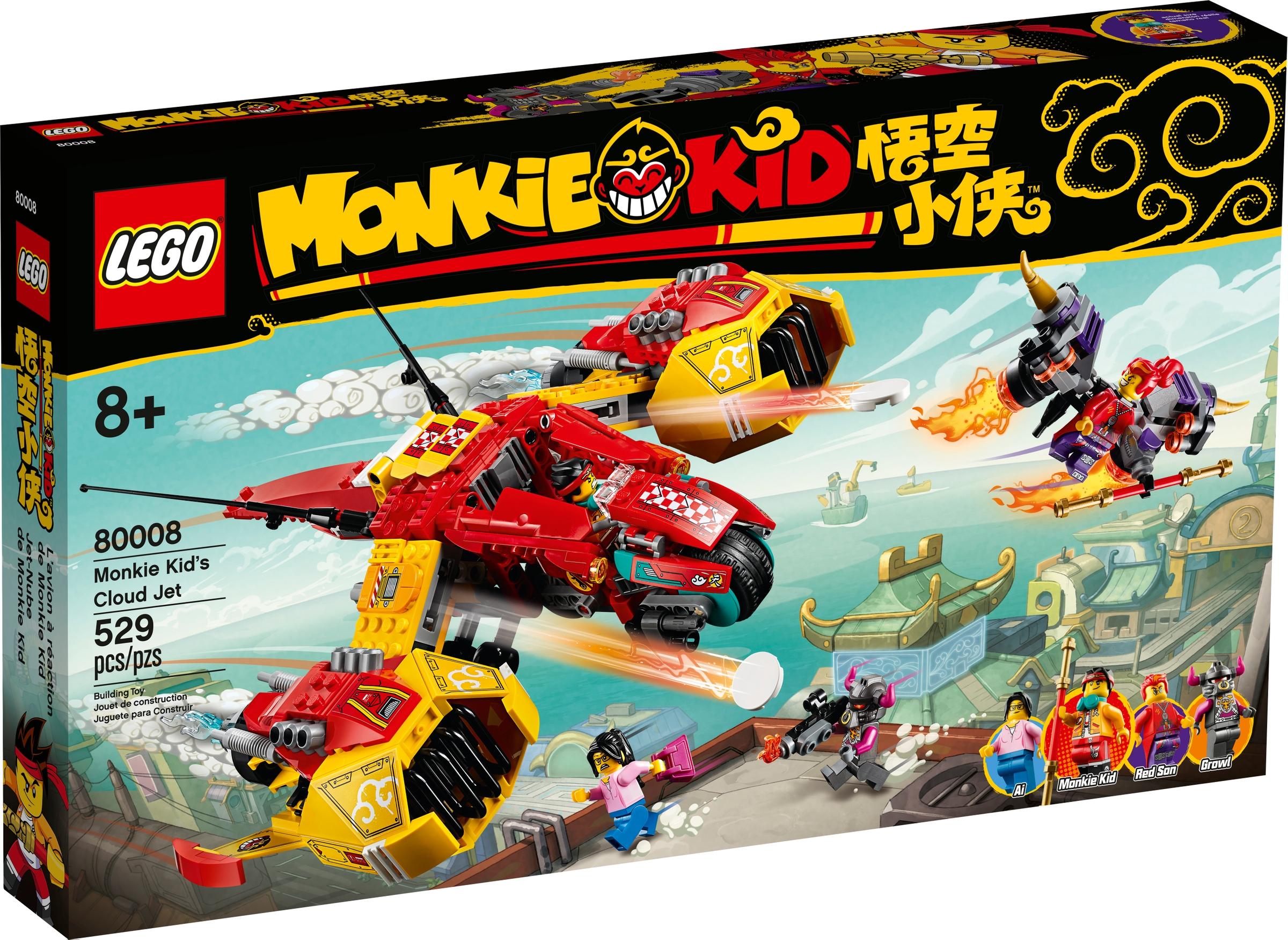 lego 80008 monkie kids himmeljager