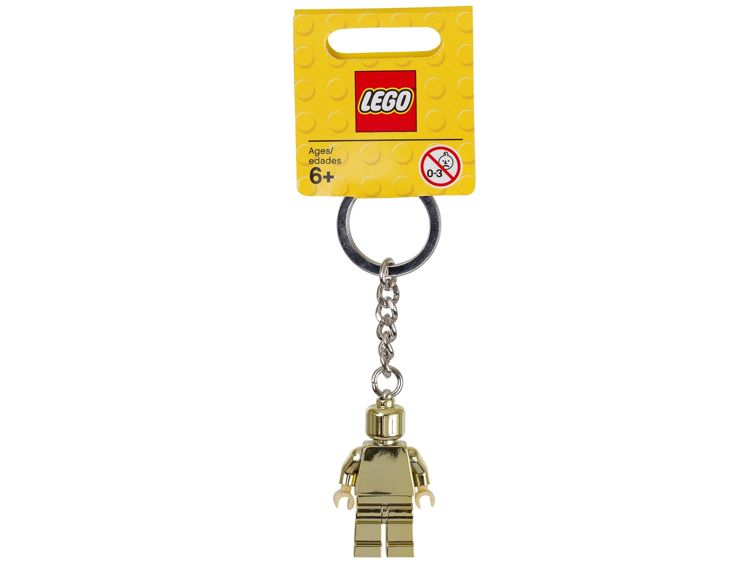 lego 850807 nokkelring med gullfarget minifigur