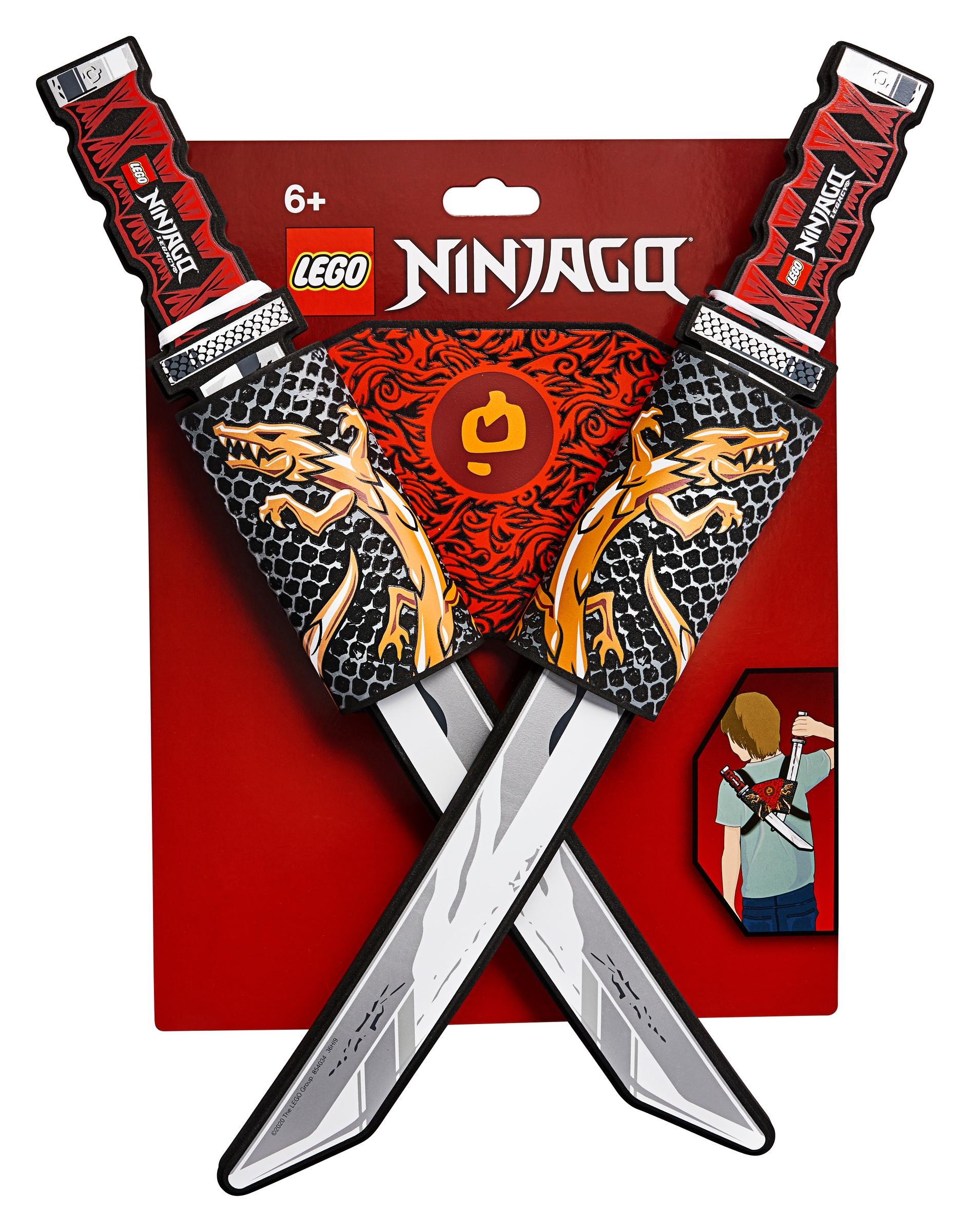 lego 854034 ninjago kryssende katanaer
