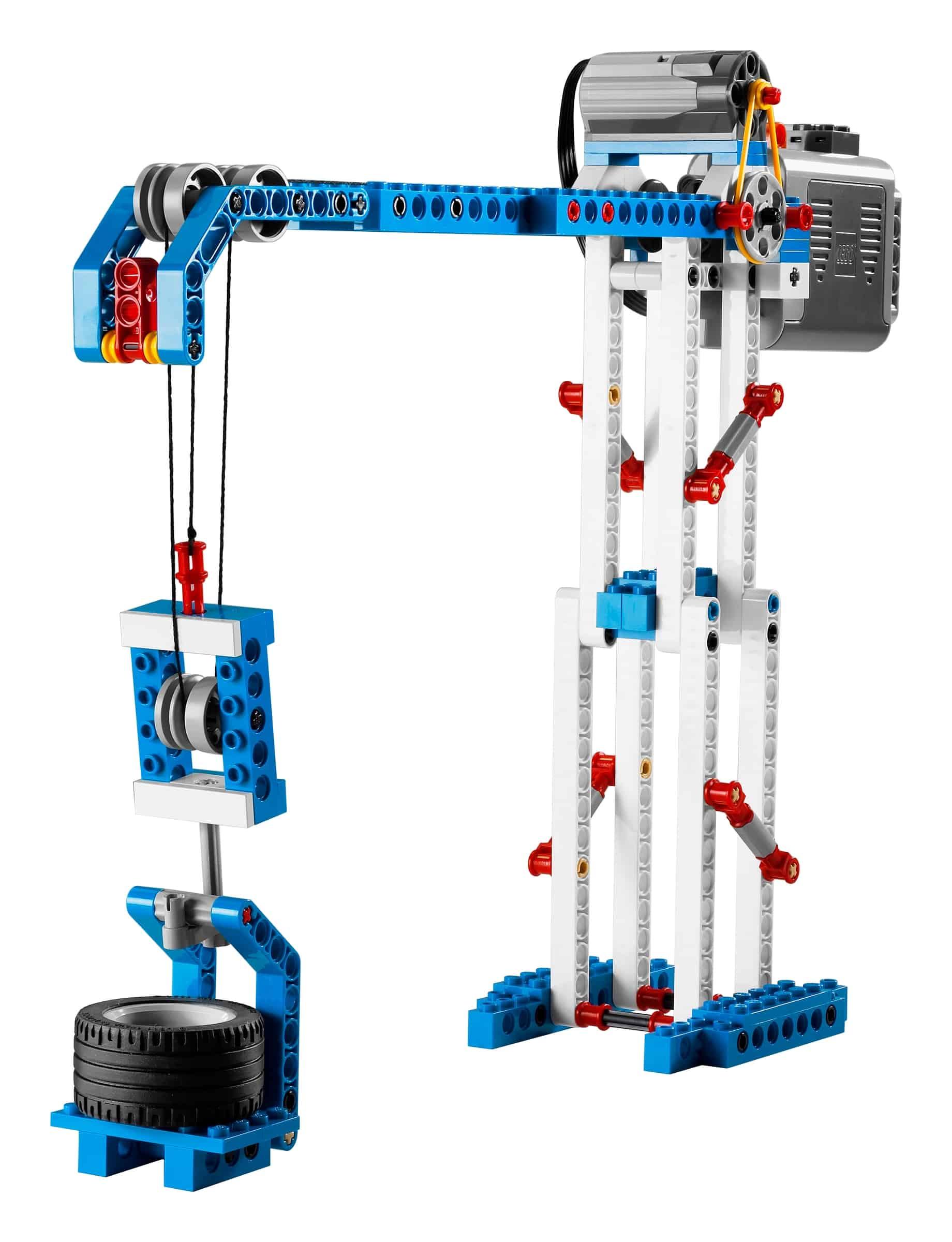lego 9686 enkle og motoriserte maskiner