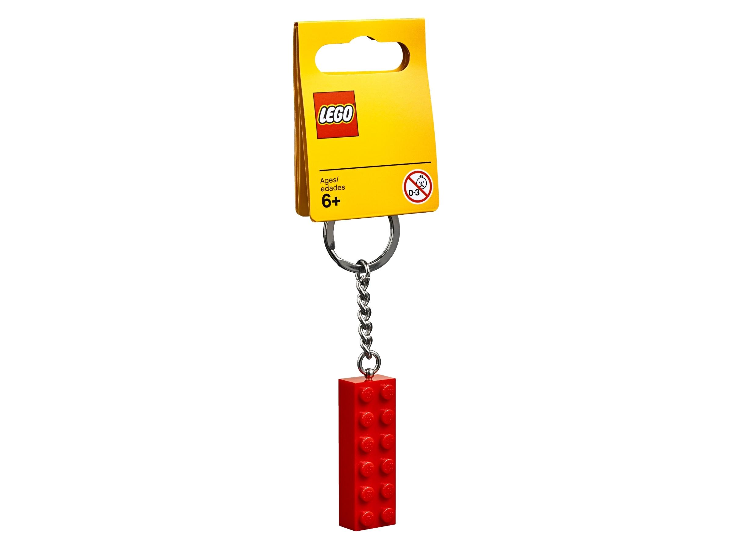 nokkelring med lego 853960 2 x 6 kloss