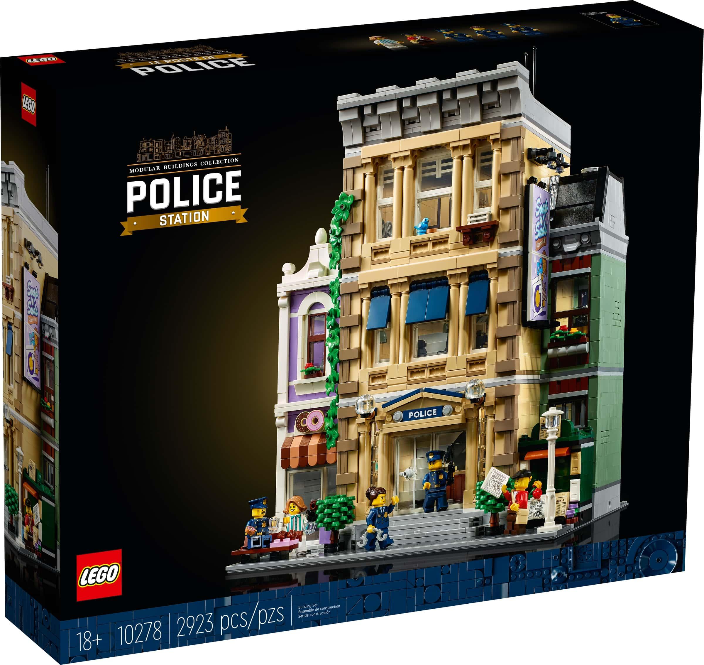 LEGO 10278 Politistasjon