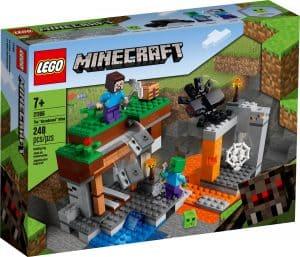 lego 21166 den nedlagte gruven