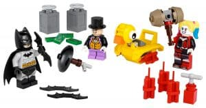 lego 40453 batman mot pingvinen og harley quinn
