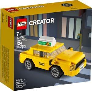 lego 40468 gul drosje
