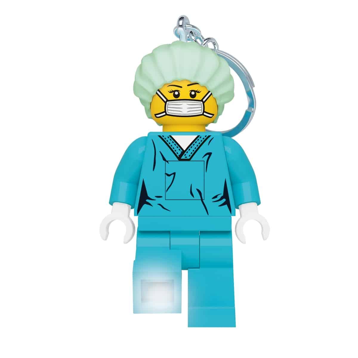 lego 5006366 kirurg nokkelring med lys