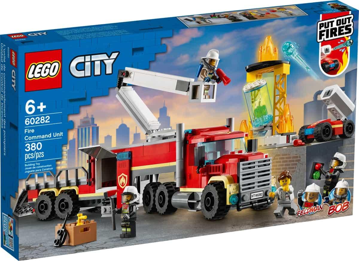 lego 60282 brannvesenets kommandoenhet
