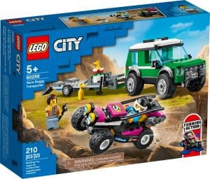 lego 60288 hengertransport med racerbuggy