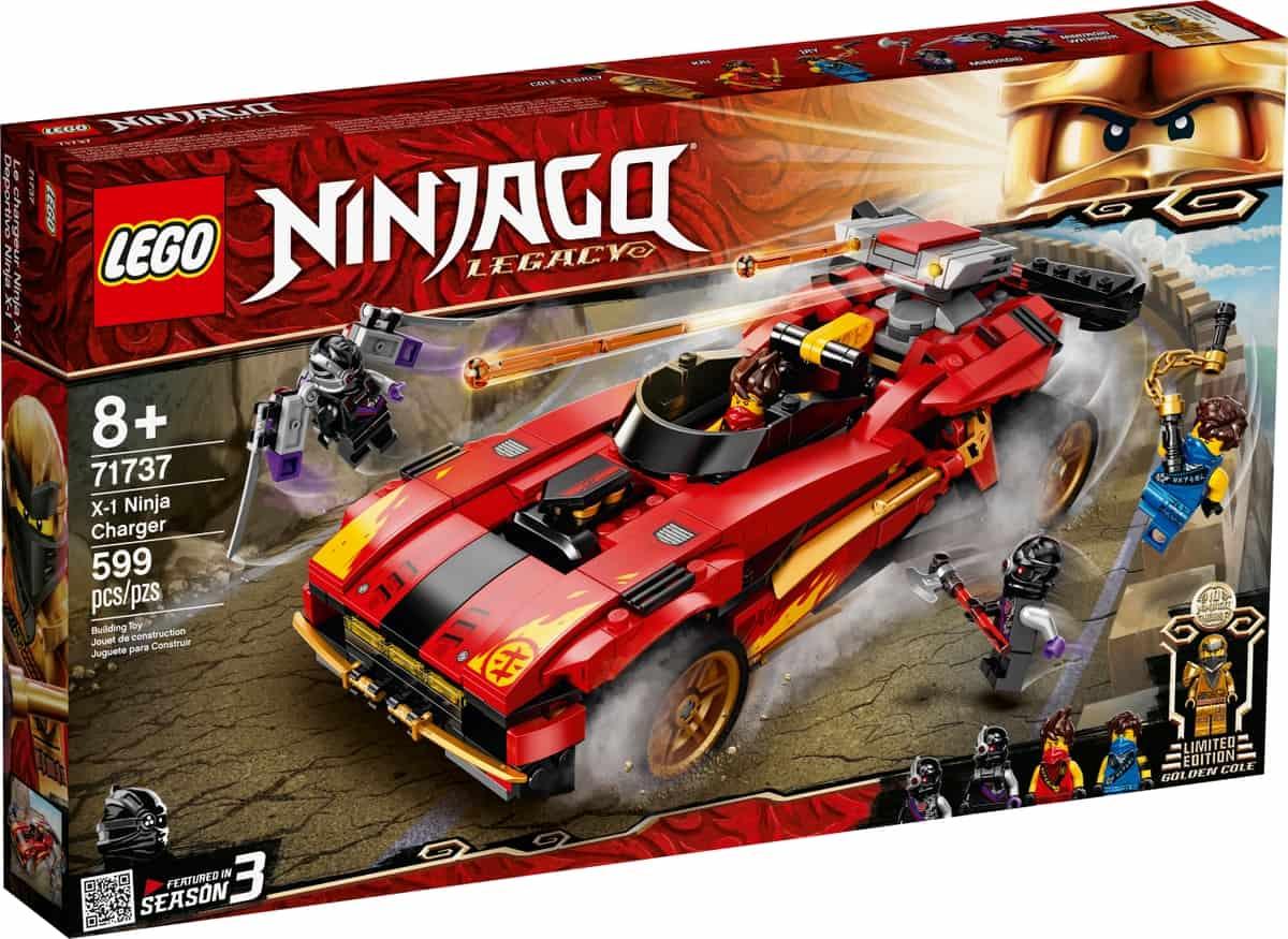 lego 71737 x 1 ninjabil