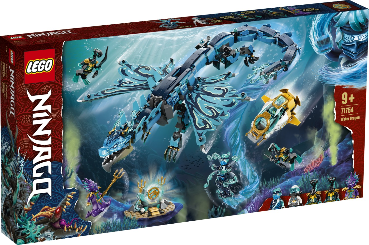 LEGO 71754 Water Dragon - 20210502