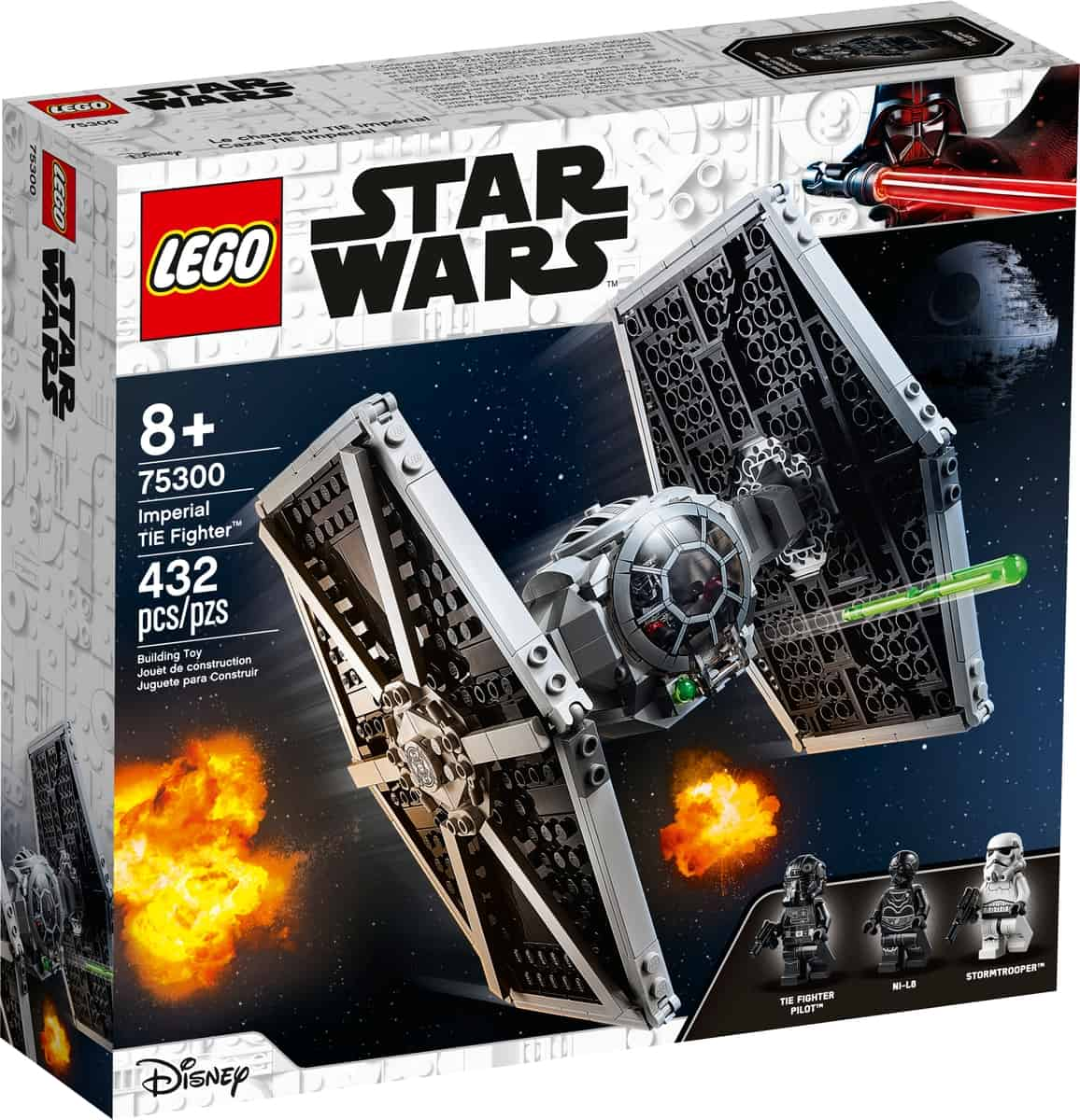 lego 75300 imperiets tie fighter