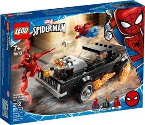 lego 76173 spider man og ghostrider mot carnage