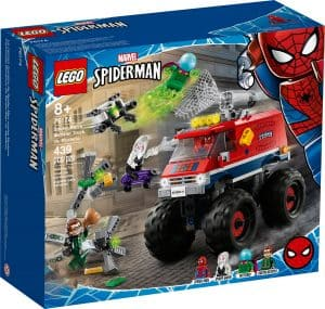 lego 76174 spider mans monstertruck mot mysterio