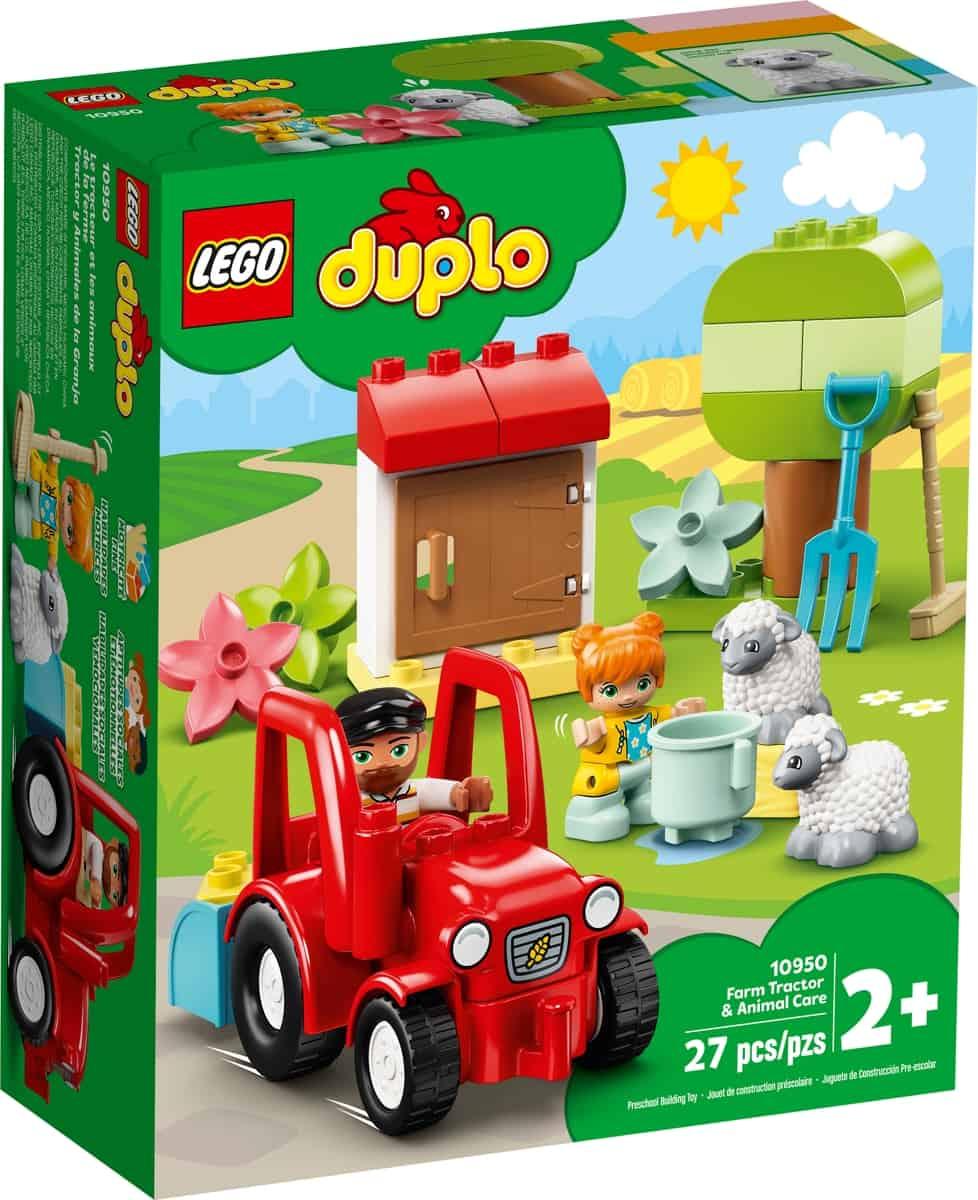 lego 10950 bondegard med traktor og dyr