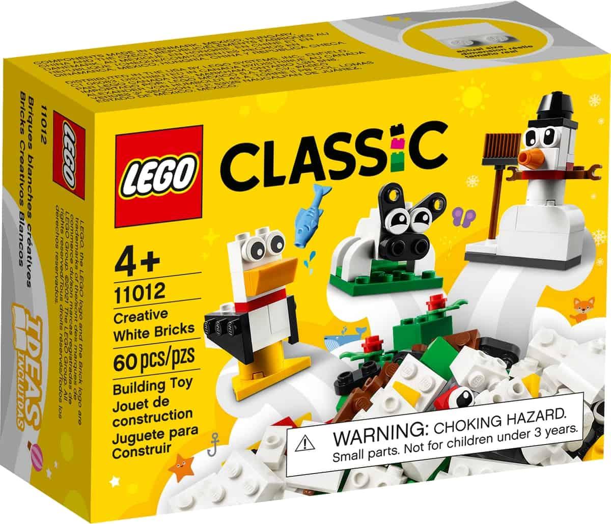 lego 11012 kreativitet med hvite klosser