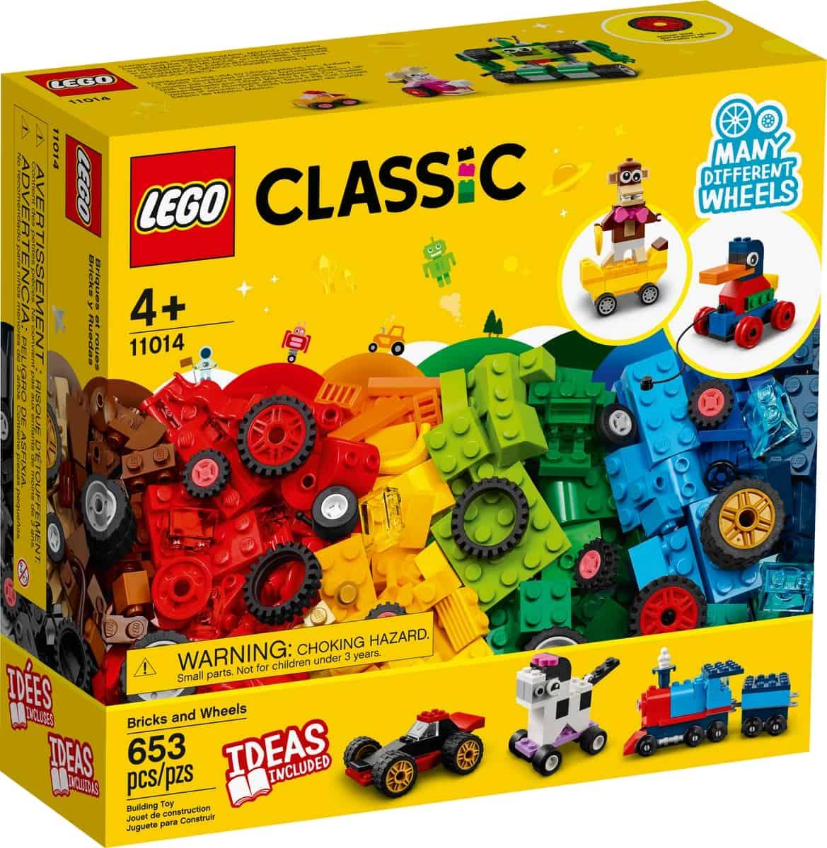 lego 11014 klosser og hjul